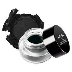 Nyx Professional Makeup Gel Eyeliner & Smudger - Betty (Jet Black)