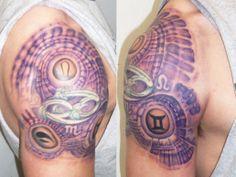 See more tattoo ideas on http://tattoosaddict.com/bio-organic-biomechanical-shoulder-tattoo-design-ideas-for-men-1027.html bio organic biomechanical shoulder tattoo design ideas for men 1027 - http://goo.gl/qgWU6e #1027, #Bio, #Biomechanical, #Design, #For, #Ideas, #Mechanical, #Men, #Organic, #Shoulder, #Tattoo