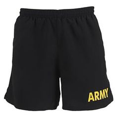 Men's Soffe Army PT Shorts | Tactical Gear Superstore | TacticalGear.com Us Army Clothing, Army Clothes, Clothes For Women, Army Shorts, Soffe Shorts, Tricot Fabric, Female Soldier, Physical Fitness