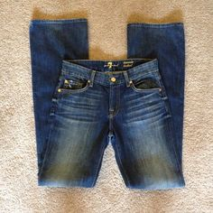 Final sale!7 for all mankind jean!! brand new! 7 for all Mankind Jeans Boot Cut