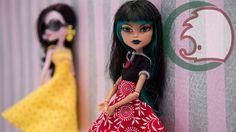 Как сшить юбку для куклы. Инструкция. How to make skirt for a doll.