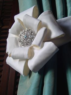 Items similar to Bow Tieback Pattern for Curtain and Drapery Panels from Details Pattern Company on Etsy Curtains And Draperies, Drapery Panels, Drapes Curtains, Valances, Cornices, Curtain Holder, Curtain Tie Backs, Window Coverings, Window Treatments