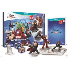 Disney Infinity: Marvel Super Heroes (2.0 Edition) Starter Pack for Nintendo Wii U