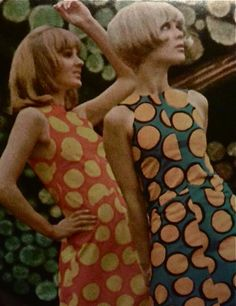Marimekko 1960's - Love the mod vibes