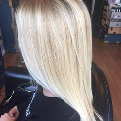 Bright blonde balayage by the owner Jennie Altman   Yelp
