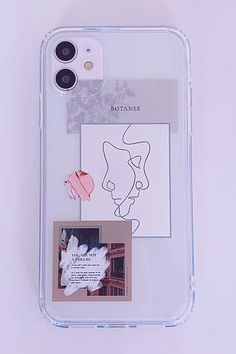 Cute Fashion Vogue Clear iPhone Case