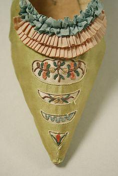 Metropolitan Museum of Art, 18th century shoe. #BrianAtwood