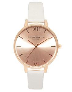 Olivia+Burton+Big+Dial+Rose+Gold+Watch