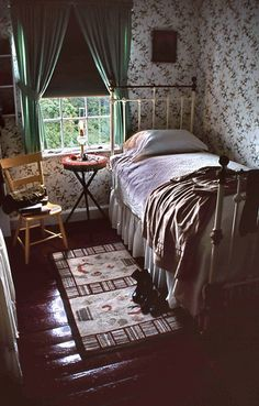 Anne Of Green Gables House 13 Anne's Bedroom by Bob Kissel, via Flickr Oh how I would luv to fall asleep in ann's bed