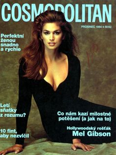 Cindy Crawford  -  Cosmo Czech Dec 1994