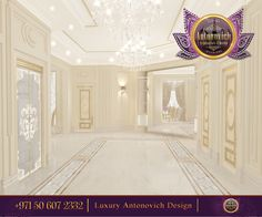 It`s all about gorgeous hall!Look at this white and tender ceiling...an d this…