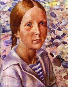 Kuzma Petrov-Vodkin (1878 – 1939, Russian)