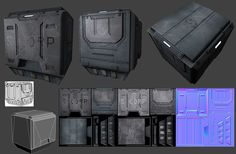 sci-fi crates - Google Search