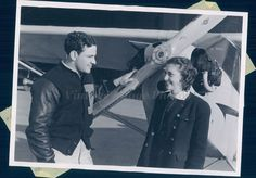 1940 Photo WW2 Era Joann Geer Science Purdue University Fred Montague Football
