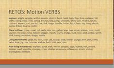 Challenge: synonyms for motion verbs in English and Spanish English Verbs, Languages, Things That Bounce, Spanish, Challenge, Learning, Idioms, Verbs In English, Studying
