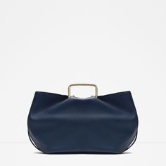 ZARA - SALE - TOTE BAG WITH METAL HANDLES