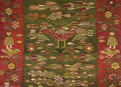 Christine Brown on Romanian Textiles, Part The Lecture Contemporary Decorative Art, John Howe, Textile Museum, Naive Art, Traditional Rugs, Fantasy Creatures, Fiber Art, Rugs On Carpet, Folk Art