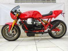 "moto guzzi vintage classic | Moto Guzzi ""Retro Le Mans Stage 2"" by Radicalguzzi"