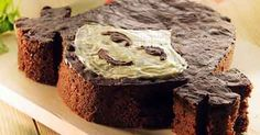 Sjov og dekorativ kage til fødselsdagen - eller til en helt almindelig dag, hvor man bare har lyst til at  bage noget anderledes. Server kagen med et glas kold eller varm kakao til.