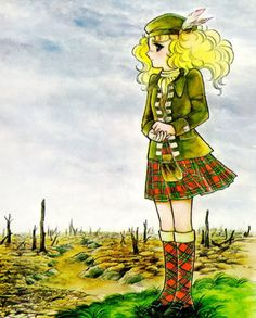 Candy Candy -  Scottish outfit