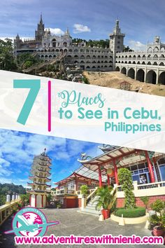 7 Places to See in Cebu Pinterest Cover Photo