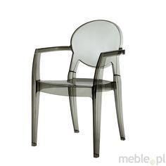 Machina Meble IGLOO Krzesło Transparentne - 2355-100