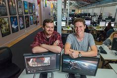 For two aspiring young visual effects artists (Joseph Roberts and Tim Fagan) UniSA's Graduate Certificate in Visual Effects at Rising Sun Pictures has provided exceptional experiential learning opportunities and crucially, their first jobs in industry.