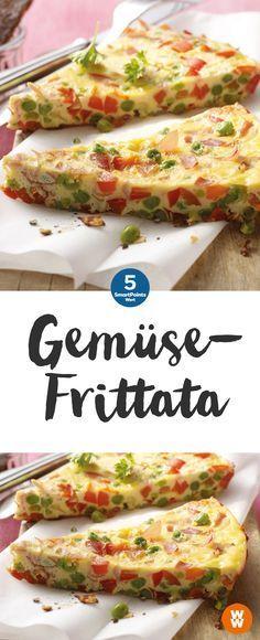 Bunte Gemüsefrittata ist nicht nur was für den hunger sondern auch etwas für´s Auge   www.lavita.de
