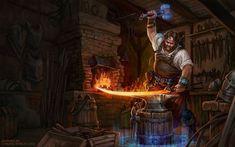 Runar by Ekaterina Burmak. ArtStation Splash screen illustration for Alvegia Online by Digital Worlds, High Fantasy, Fantasy Rpg, Medieval Fantasy, Fantasy Artwork, Fantasy Portraits, Dark Souls, Character Art, Character Design, Character Ideas