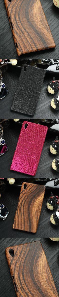 AKABEILA Elegant Cases For Sony Xperia Z3+ Case E6553 Z3 Plus dual E6533 Z4 PC+PU Phone Shell Housing Skin Bags Hood Black Twill