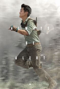 Can you keep up with Minho? Check out this exclusive online Maze Runner poster featuring Ki Hong Lee from Yahoo Movies!