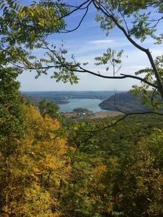 From the top of Bear Mountain, NY, by Luis Jacome.