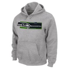 Men's Seattle Seahawks Navy Field Position Pullover Hoodie