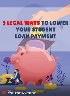 If you have student loans, you need to know the options to lower your student loan payments. Student Loan Payment, Student Loans, Mortgage Tips, Get Out Of Debt, Budgeting Money, Debt Payoff, Debt Free, Money Management, Money Saving Tips