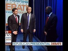 "The Classiest Debate Moment That No-One Noticed–Never Leave A Good Man Down…| 2.7.16 |""…what Donald Trump did before the debate even began shows the measure of a real man's worth. Donald Trump showed his leadership by standing right next to his friend, & not walking onto the stage. People often mistake Trump's self-confidence for arrogance or even narcissism. But there is not a narcissist on the planet who would have put themselves into a position like that to assist a competing colleague."""