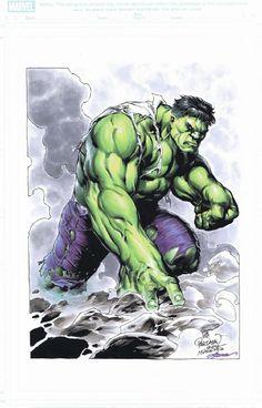 The Hulk by Carlo Pagulayan,Jason Paz and Laura Martin