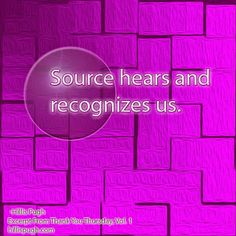 Source hears and recognizes us. #happyeaster   #source   #god   #recognition   #gratitude