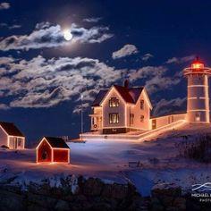 Maine Christmas (100 pieces)