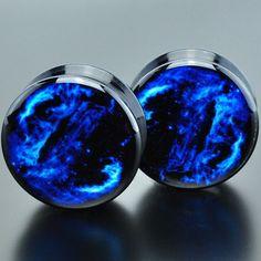 Cygnus Loop Nebula Acrylic Plugs
