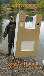 Lightweight Montana Foam Boats - Fly Fishing Boat and One Person Watercraft