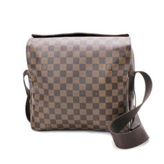 Louis Vuitton Naviglio  Damier Ebene Shoulder bags Brown Canvas N45255