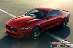 Novo Ford Mustang ganha galerias de imagens em alta definição antes do evento | Notícias Automotivas - Carros
