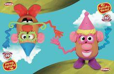 #Concours : Vous aimez M. et Mme Patate ? Gagnez un coffret anniversaire à l'occasion des 60 ans du célèbre jouet.