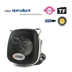 Mini Cat Mp3 Speaker F7 Supported Micro SD Card up to 8GB $12.79
