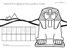 RECURSOS DE EDUCACIÓN INFANTIL: FICHAS SOBRE EGIPTO Africa, Snoopy, Peace, Comics, Fictional Characters, Egypt, Activities, Ancient Egypt For Kids, Sphynx