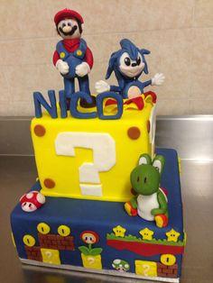 Cake Super Mario & Sonic