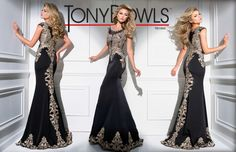 Style by Tony Bowls Designs. View the Tony Bowls Collection now and contact a retailer near you to order the perfect designer dress for your social occasion! Prom Dresses 2016, Designer Prom Dresses, Modest Dresses, Formal Dresses, Bowl Designs, Tony Bowls, Spring 2016, Dress For You, Bridal