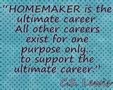 So true! I am so blessed to stay home with my son! Thank God for my husband and great job! Mama still needs to be spoiled!  :) Image detail for -The Value of a Stay-at-Home Mom | Holy Spirit-led Homeschooling ...