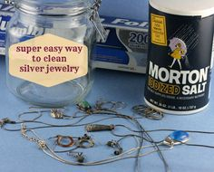You can clean a whole box full of silver jewelry or flatware in only minutes!