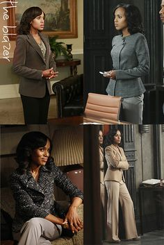 True style inspiration from olivia pope...this woman knows how to wear a suit!
